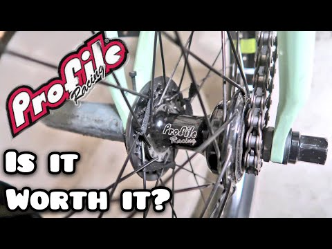 THE MOST EXPENSIVE BMX HUB REVIEW! (Profile Z Coaster)