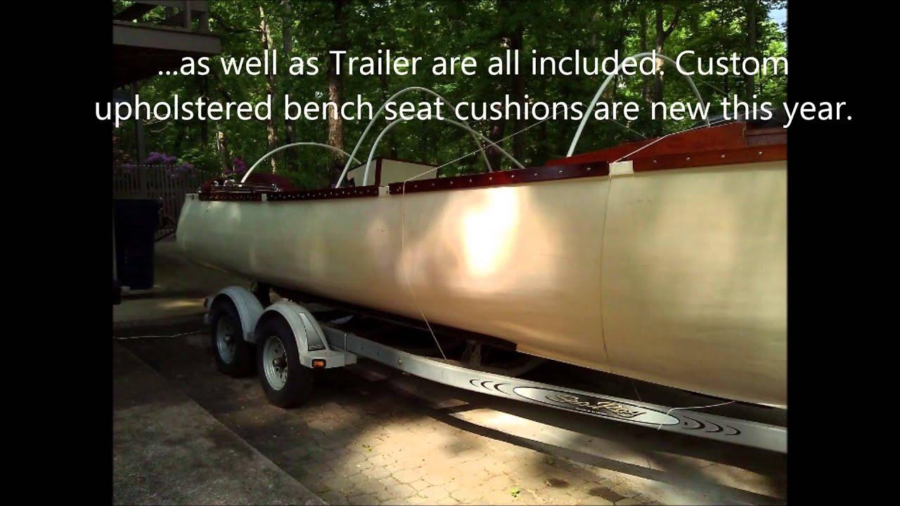 Phil Bolger Design 537 Fishermans Launch For Sale - YouTube