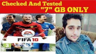 Download Fifa 10 Free For PC - Game Full Version Working