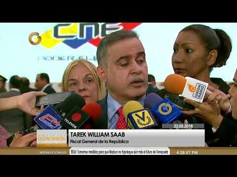Tarek William Saab: El MP es el encargado de interpretar los casos de reserva legal