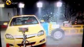 The NCAP | Opel/Vauxhall Tigra | 2004 | Crash Test