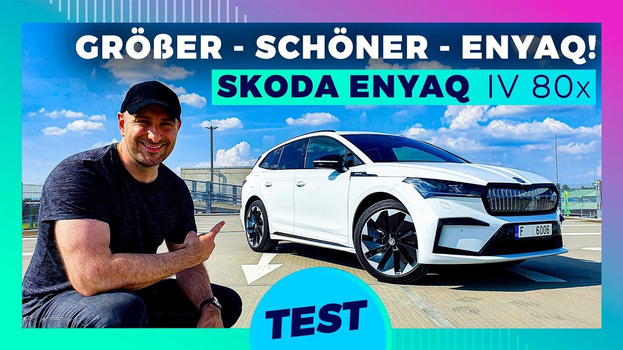 Der neue Skoda Enyaq ALLRAD - Die Nr.1 der Familien Elektroautos!
