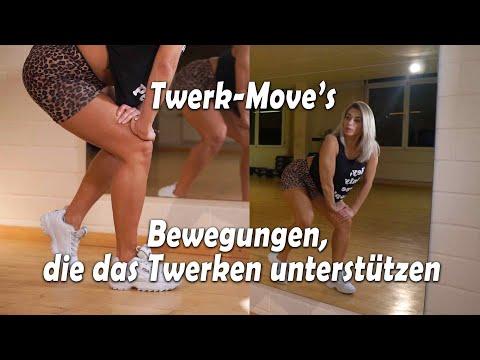 Einblick Basic moves - Twerxout Onlinekurs von Rimma Banina