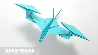 COOL Paper Helicopter - How to make an Origami Helicopter Model | V280-Valor