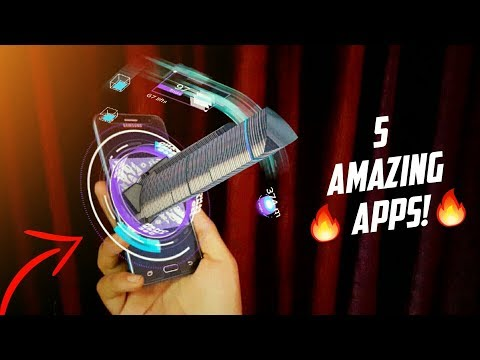 5 AMAZING ANDROID APPS - 2018