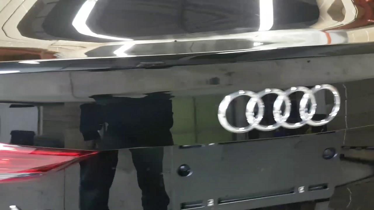 Installation Oem Fit Backup Camera 2017 Audi A3