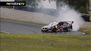 Shane Van Gisbergen hace Drift con el Holden Supercar Australia - Material Completo en PRMotor TV