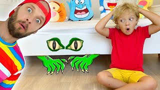 Lev and Dad - Monster under the bed story