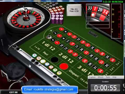 Video Martingale system roulette online illegal