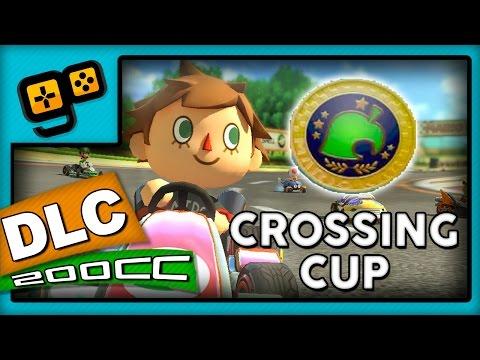 Mario Kart 8 - DLC Animal Crossing - Crossing Cup 200cc