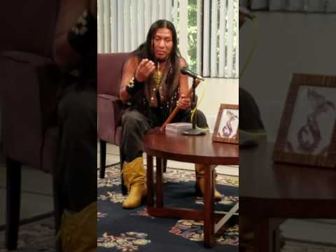 Sicanni plays a beautiful meditation melody. Native American flute