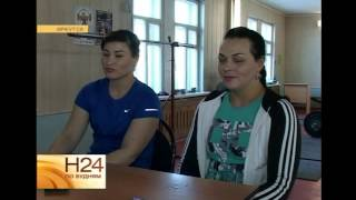 В Иркутске провели мастер-класс по тяжелой атлетике Светлана Подобедова и Татьяна Матвеева