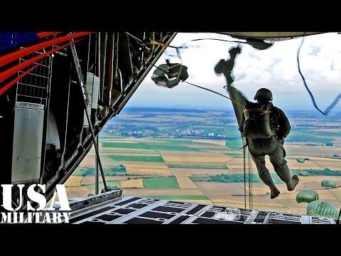特殊部隊グリーンベレーの空挺降下訓練 - Special Forces Green Berets Airborne Training