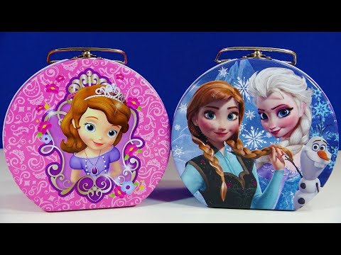 Disney Princess Frozen Lunch Box Kinder Joy Egg PJ Masks Surprizamals Care Bears Peppa P