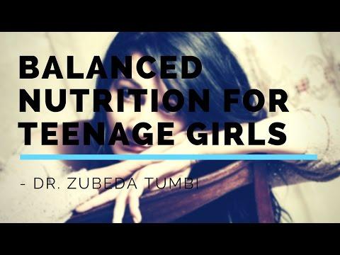 Balanced Nutrition for Teenage Girls