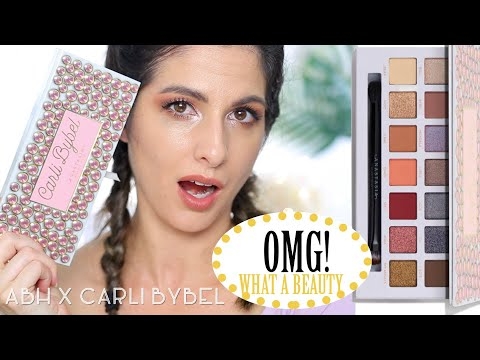 Anastasia Beverly Hills X Carli Bybel Palette! Compared to Riviera, Try on and Thoughts! thumbnail