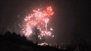 Фейерверк   китайский Новый год