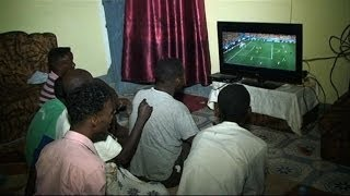 Somali football fans root for African teams in World Cup