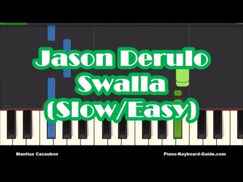 how-to-play-swalla-by-jason-derulo---slow-easy-piano-tutorial