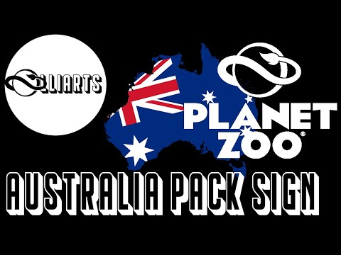 Planet Zoo Australia Pack Sign |