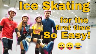 Ice Skating for the first time