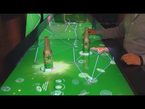 WHY INTERACTIVE BAR TOP TABLES   YouTube