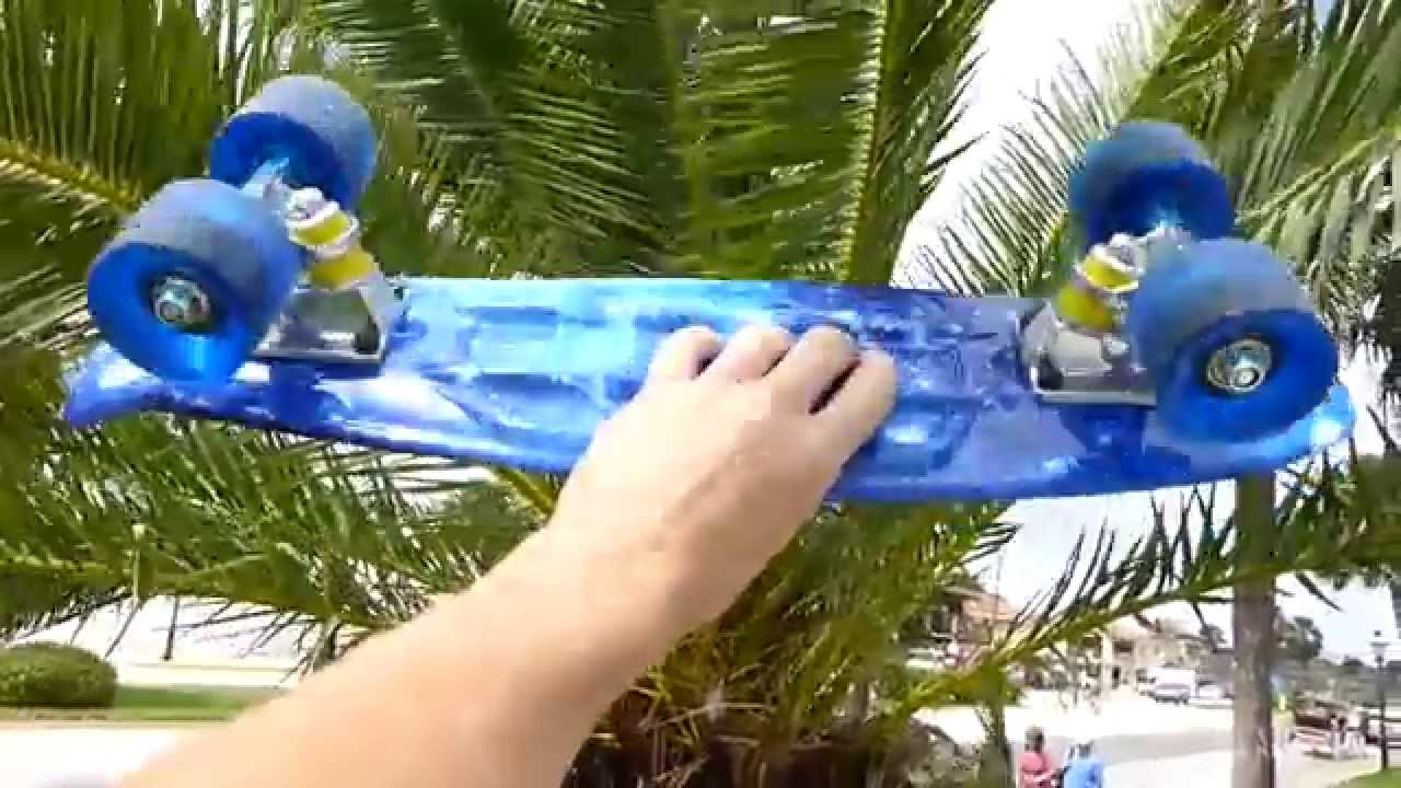 Review  Rimable Mini Cruiser Skateboard VS Penny Board  - YouTube a4f1ba7758a