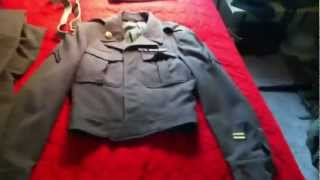 WWII Collecting for Beginners Part 2 Ike Jackets and Dress Uniforms