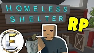 Homeless Shelter RP | A safe place to live but i get in BIG TROUBLE! - Unturned HOBO Roleplay