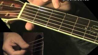 GREENSLEEVES: Easy Guitar Lesson + TAB by GuitarNick