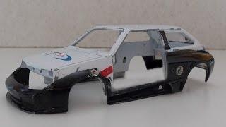 Тюнинг модели восьмерки (Лада 2108). Ламбо-восьмерка(Тюнинг модели восьмерки (Лада 2108) от Сами с усами - своими руками. Проект основан на масштабной модели автомо..., 2016-08-18T12:06:28.000Z)