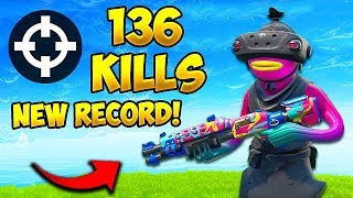 *WORLD RECORD* 136 KILLS IN 1 GAME!! - Fortnite Fails and WTF Moments! #625