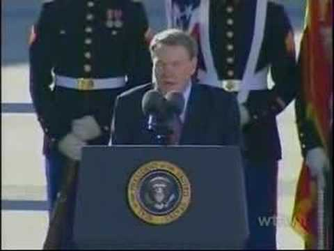 Jim Lehrer Speaks At National Museum Of The Marine Corps