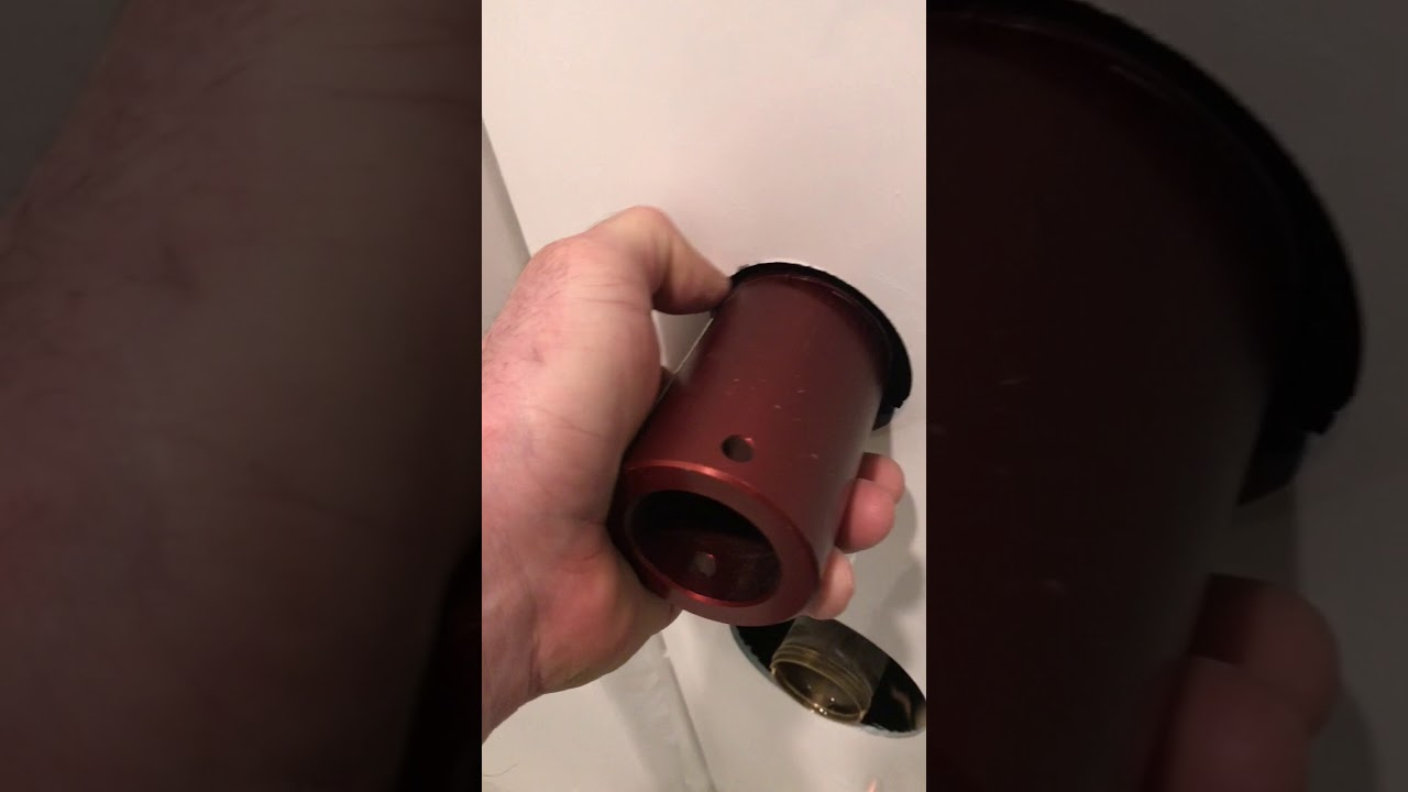 How To Remove Stuck Delta Bonnet Nut Youtube