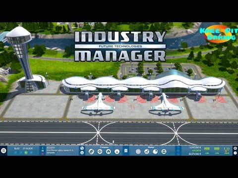 Industry Manager: Future Technologies - Let's Play Episode 1 - A Software Company is Born