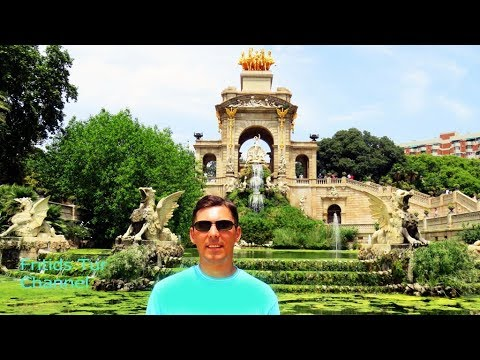 Beautiful places of Barcelona 2017 Travel to Catalonia, Spain