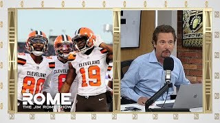 Predicting NFL Games In April Is WHACK | The Jim Rome Show