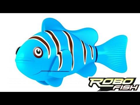 видео: RoboFish - Обзор новой интересной игрушки