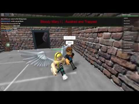 Roblox: Bloody Mary Awake and Trapped Walkthrough