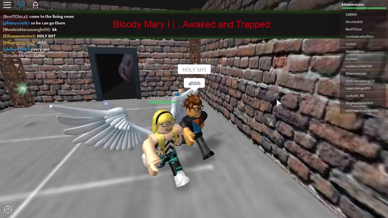 Roblox Bloody Mary Awake And Trapped Walkthrough Youtube