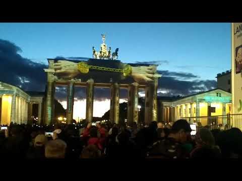 Brandenburg Tor Light festival 2017 Berlin