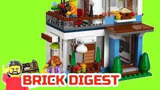 Lego Creator Modular Modern Home 31068 : Review