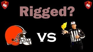 Cleveland Browns Getting Screwed By Refs - Compilation