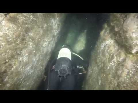 Diving Fish Rock Cave At South West Rocks With GoPro Black Hero 3+