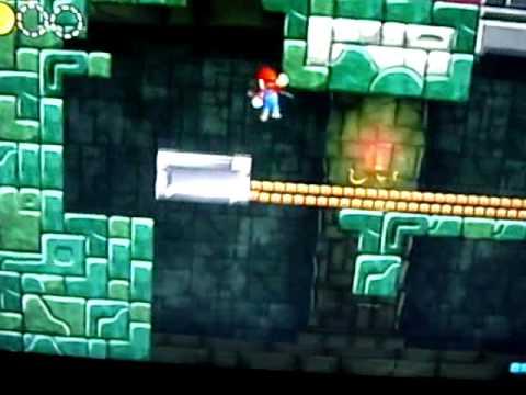 New Super Mario Bros Wii World 4 Cannon Unlock Youtube