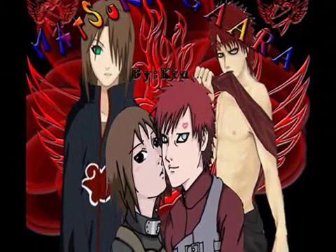 Matsuri and Gaara: Looking for your love. - YouTube Gaara And Matsuri Kiss