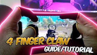 4 Finger Claw Guide/Tutorial Chinese Pro Players Drills! (PUBG MOBILE) Reflexes Like Coffin!