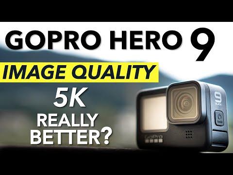GoPro Hero 9 - Image Quality Test and 5K comparison (Hero9 vs Hero8)