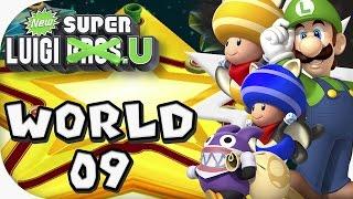New Super Luigi U: World 09 (4 players)