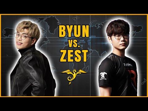 StarCraft 2 - BYUN vs ZEST! - OlimoLeague April 2021 | Finals